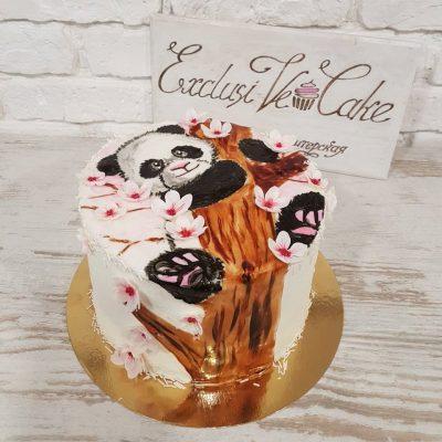 торт панда exclusive cake