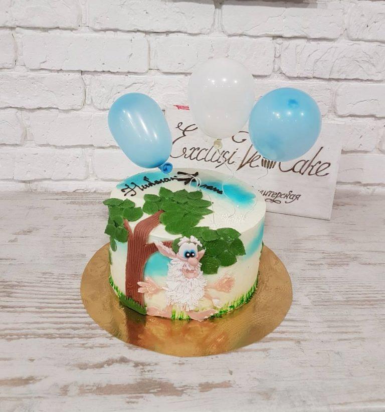 торт с художественной росписью в киеве