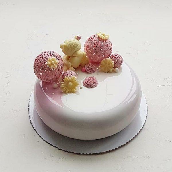 торт зеркальная глазурь 2