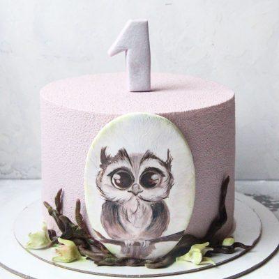 торт совушка