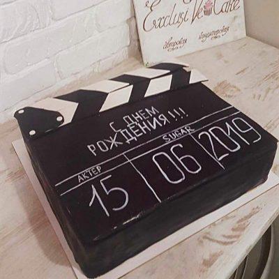 торт нумератор съемка кино