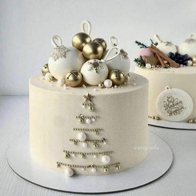 торт на новый год 2020 с новым годом