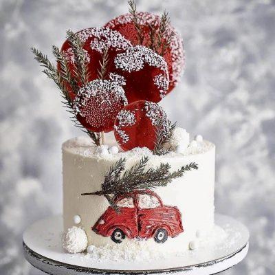 торт на новый год 2020
