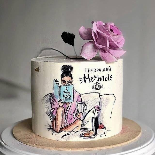 торт для девушки торт для женщины