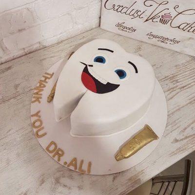 торт стоматологу - Exclusive Cake