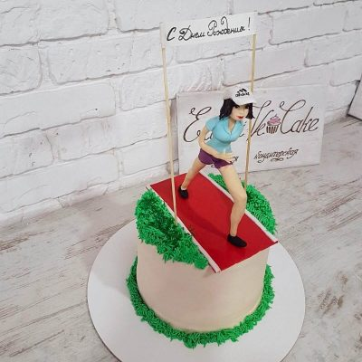 торт спортсмену девушке