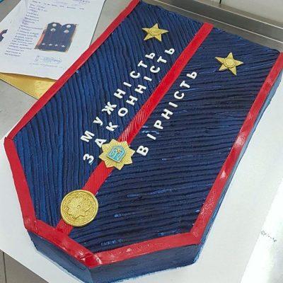 торт погоны герб украины