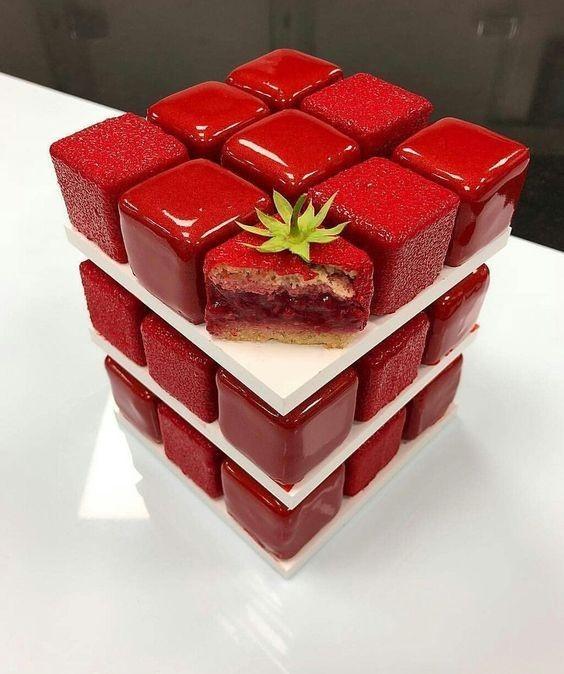 торт кубик рубик
