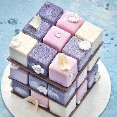 торт кубик на заказ