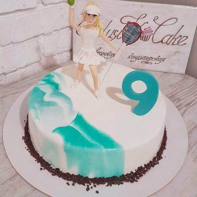торт для теннисиста