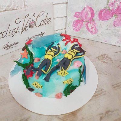 торт для дайвера