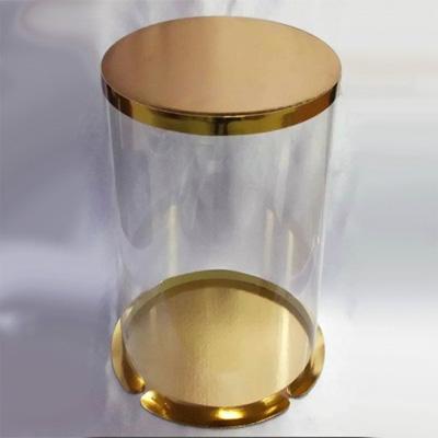Коробка в золоте для торта